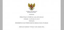 Peraturan Otoritas Jasa Keuangan Nomor 19/POJK.04/2015