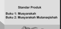 Standar Produk Musyarakah  Buku dan Musyarakah Mutanaqishah